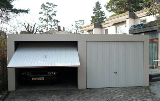 Doppelgarage pultdach  Pultdach Fertiggaragen, Pultdachgaragen